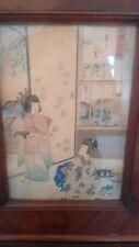 Japanese Woodblock Print by Shuntei Miyagawa. C1890