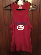 Ecko Unltd Red Singlet Size Medium