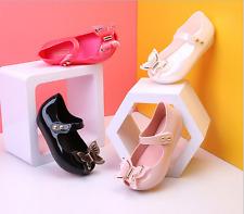 2018 UK Girls Kid Melissa Butterfly Jelly Sandal Princess Beauty and Beast Shoes