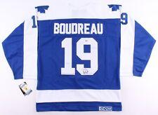 Bruce Boudreau Signed Maple Leafs Jersey (Beckett COA) Current NHL Head Coach