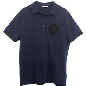 Versace Collection Men's Medusa Polo T Shirt Size Large Rrp $890