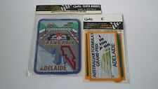 Australian Formula 1 one Grand prix Adelaide Lot 2 patches badges Vtg cashs race