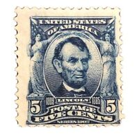 1902 US Stamps Collection Scott #304 Unused H OG CV $60