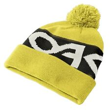 2016 Oakley Mens Factory Cuff Beanie Winter Thermal Bobble Hat Citrus 911432-598