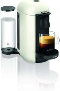 Krups YY3916FD Nespresso Vertuo Plus Kaffee Kapselmaschine 1260W 1,2L Rund Weiß