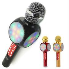 Microfono Portatile Wireless Con Bluetooth Karaoke Cassa Integrata Ws-1816