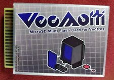VecMulti Vectrex Multicart Flash SD Card LED BackLit Multi-cart NEW FREE SHIP 👀