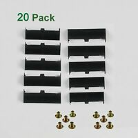 20 PacK For Dell Latitude E6320 E6420 ATG E6520 Hard Drive Caddy Cover and SCREW