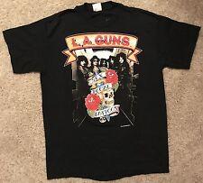 RARE LA Guns t shirt Cocked And Loaded 1989 VINTAGE Guns n Roses Sunset Strip