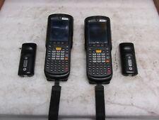 Lot of 2 Symbol Motorola MC9596-KDABAB0000U 1D 2D Laser Barcode Scanner MC9590