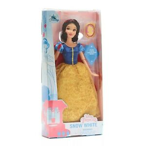 Disney Princess Snow White Classic Doll Action Figure 28cm Tall Clip-On Pendant