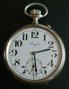 "LONGINES RARE ""EFCO"" VINTAGE POCKET WATCH - SWISS MADE (working)"