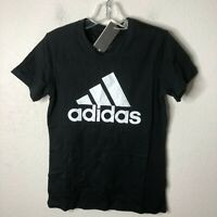 Adidas Women's Badge Of Sport Cotton Tee, Black, X-Small, MSRP $25