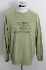 BARBOUR INTERNATIONAL STEVE MCQUEEN L vintage sweatshirt sweater jacket man