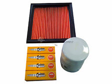 FOR NISSAN MICRA K11 1.0 1.3 16V OIL AIR FILTER NGK SPARK PLUGS SERVICE KIT