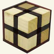 Cross Cube assembly puzzle