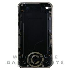 Door with Chrome Bezel for Apple iPhone 3G Black Panel Housing Battery Cover