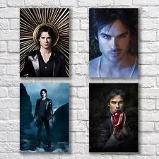 Ian Somerhalder HQ Poster A4 NEW Set The Vampire Diaries Damon Home Wall Decor