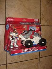 Fisher-price DC super friends Heroworld Transforming CYBORG TEEN TITANS MOSC FP