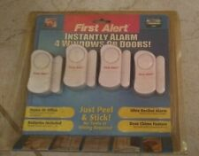 4 First Alert Instant Alarms System for Window Door Safety Home/Office 2004