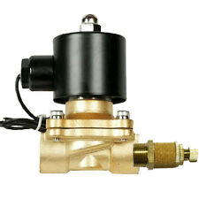 "Air Ride Suspension Valve 3/8""npt Brass Electric Solenoid With Slow Down Dump"
