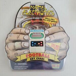 Mattel Electronic Mini Classic Football Game Key Chain NIP Needs New Battery