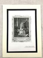 1934 Vintage Francese Stampa Dangerous Liaisons Segreto Amore Amanti Baudouin