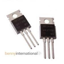 2x IRFZ44N  N-Channel MOSFET 49A 55V 94W TO220 Z44N IRFZ44 Z44  IFRZ44 Arduino