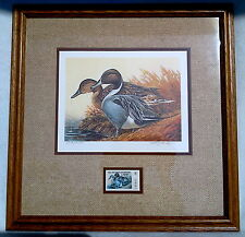 1982 WISCONSIN WATERFOWL STAMP PRINT FRAMED LIMITED EDITION WILLIAM KOELPIN