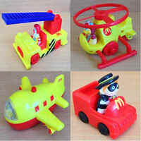 McDonalds Happy Meal Toy 1996 Airport McDonaldland Emergency Vehicles - Various