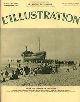 Publicité ancienne sur la côte Française de l'Antlantique 1937 issue magazine