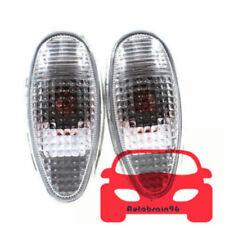 2PCS L&R Pair Side Markers Corner Lamp Parking Light MR522027 For Mitsubishi