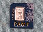 1 gram Platinum PAMP Suisse Multigram Bullion Bar Mint Sealed IN STOCK