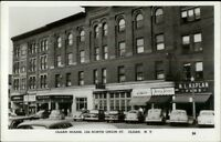 Olean NY Olean House Old Cars Real Photo Postcard