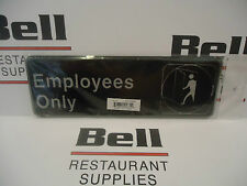 """*NEW* 3"""" x  9"""" Sign - EMPLOYEES ONLY - Free Shipping!"""