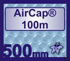 100m x 500mm AirCap Small Bubble Wrap Roll
