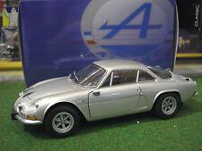 RENAULT ALPINE A110 1600SC de 1974 GRIS au 1/18 KYOSHO 08482S voiture miniature