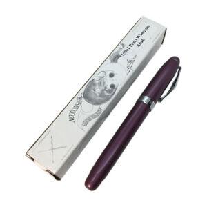 Noodler's Ahab Flex Fountain Pen - 15061 - Purple Pearl Wampum