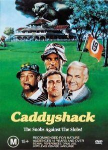 Caddyshack (DVD,1980) Chevy Chase, Rodney Dangerfield, Bill Murray. Region 4 NEW