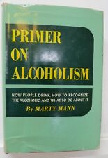 Primer on Alcoholism, Marty Mann, 1950, Rinehart -1st Edition / 3rd Print - RARE