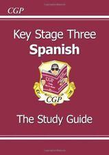 KS3 Spanish Study Guide,CGP Books