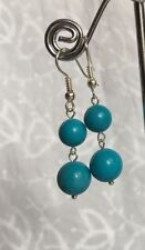 Unbranded Silver Plated Turquoise Stone Costume Jewellery