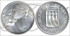 San Marino - Monedas Conmemorativas- Año: 1973 - numero KM00029 - FDC 500 Liras