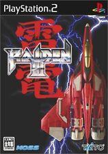 Used PS2 TAITO Raiden III  SONY PLAYSTATION 2 JAPAN IMPORT