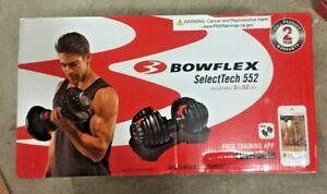 Bowflex SelectTech 552 Adjustable Dumbbell, Single