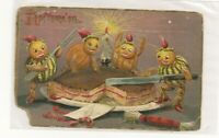 ANTIQUE HALLOWEEN POSTCARD PUBLISHED BY TUCK  & SONS SERIES 150  Stamp