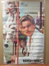 vintage 1997 Romeo and Juliet original movie poster Leonardo DiCaprio 7274