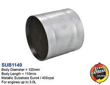 Metall Substrat Universal Katalysator 400 Zeller / 400cpsi 120mm Euro4 SUB1140