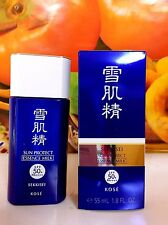 KOSE Sekkisei SUN PROTECT ESSENCE MILK 55ml /1.8fl.oz. New in Box FULL Size