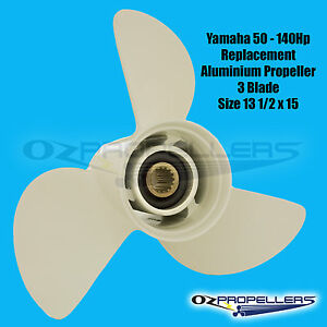 For Yamaha 13 1/2 x 15 K PROP PROPELLER NEW SUITS  50-70-80-90-100-115-140HP